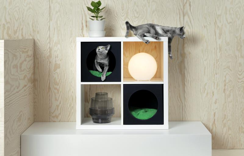 Ikea lanza una colección de muebles para mascotas