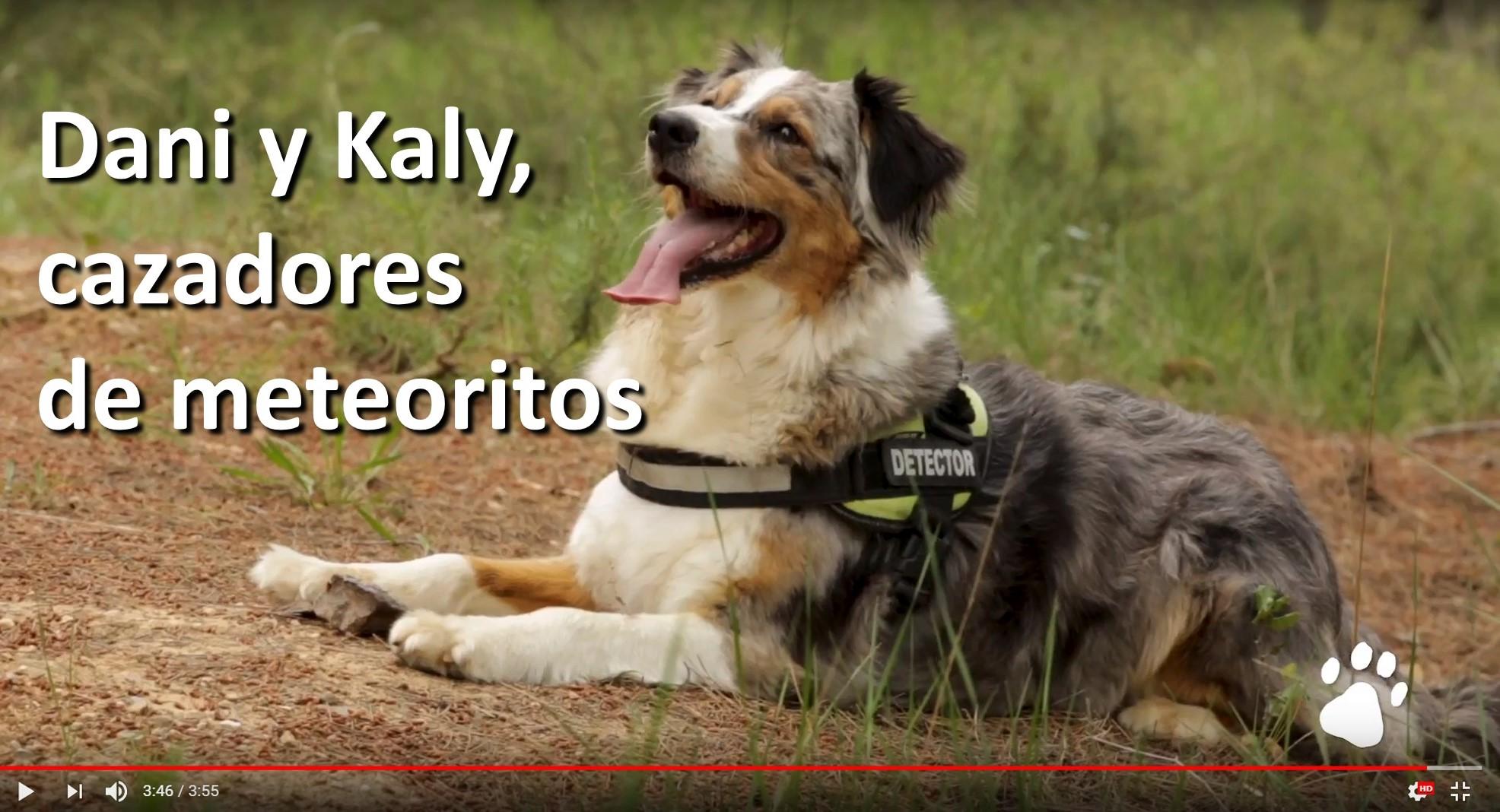 Dany y Kaly-cazadores-meteoritos
