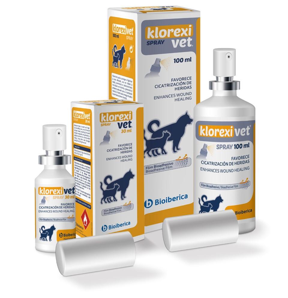 Bioibérica lanza Klorexivet®, una innovadora fórmula espray que evita el sobrecrecimiento microbiano y favorece el estado optimo de la piel de animales de compañía
