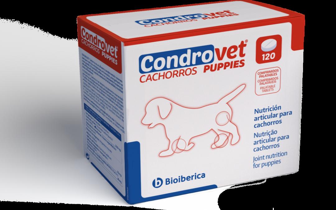 CONDROVET® Cachorros, un alimento complementario para nutrir las articulaciones en formación